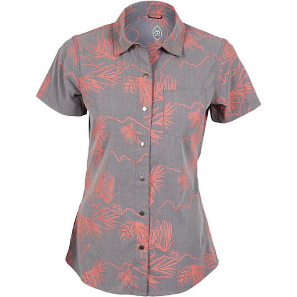 クラブライド レディース シャツ トップス Club Ride Women's Sandi Surfer Shirt Asphalt Print