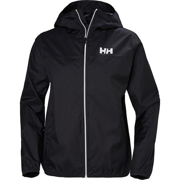 ヘリーハンセン レディース ジャケット&ブルゾン アウター Helly Hansen Women's Belfast Packable Jacket Black