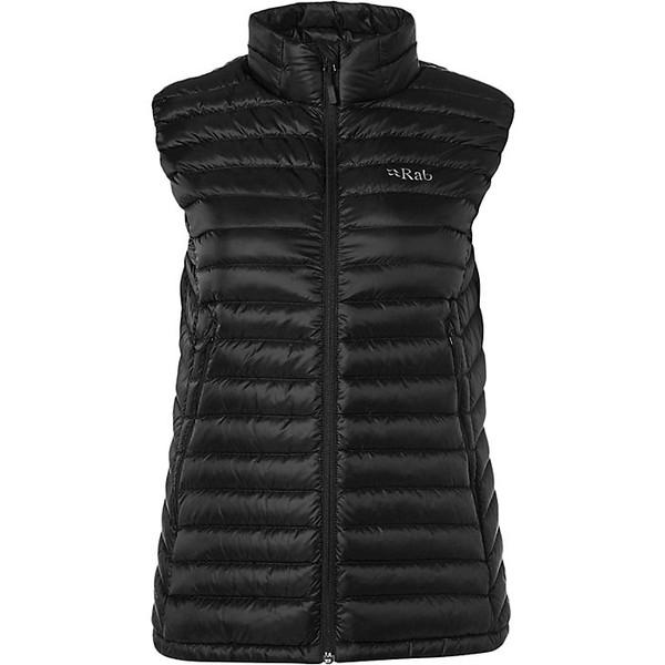 ラブ レディース ジャケット&ブルゾン アウター Rab Women's Microlight Vest Black / Seaglass