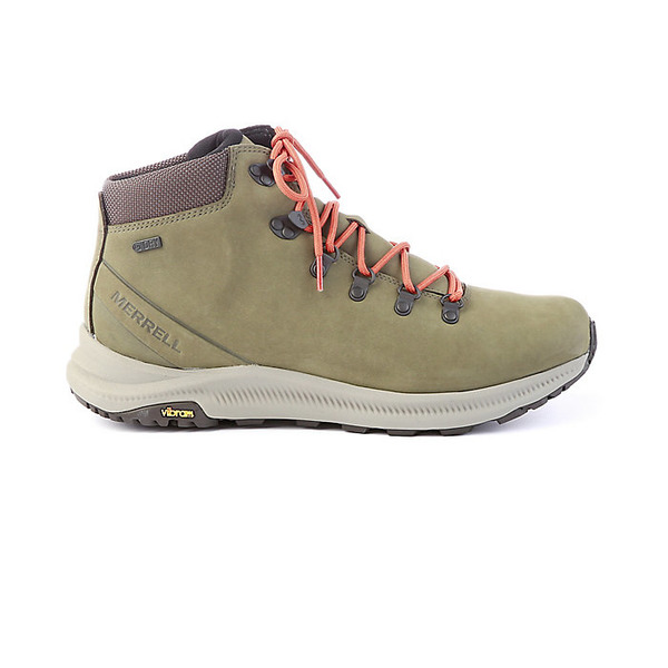 メレル メンズ ハイキング スポーツ Merrell Men's Ontario Mid Waterproof Shoe Olive
