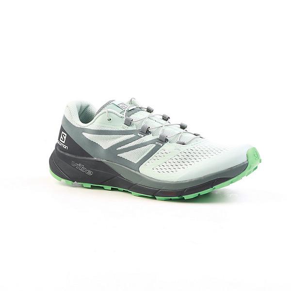 サロモン レディース ランニング スポーツ Salomon Women's Sense Ride 2 Shoe Icy Morn / Navy Blazer / Electric Green