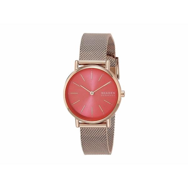 スカーゲン レディース 腕時計 アクセサリー Signatur Two-Hand Women's Watch SKW2868 Rose Gold Stainless Steel Mesh