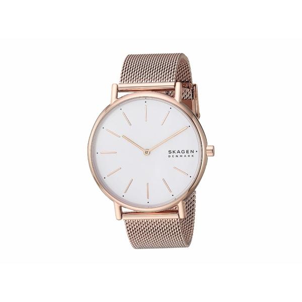 スカーゲン レディース 腕時計 アクセサリー Signatur Two-Hand Women's Watch SKW2784 Rose Gold Stainless Steel Mesh
