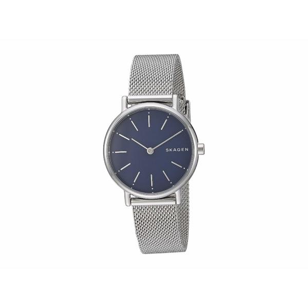 スカーゲン レディース 腕時計 アクセサリー Signatur Two-Hand Women's Watch SKW2759 Silver Stainless Steel Mesh