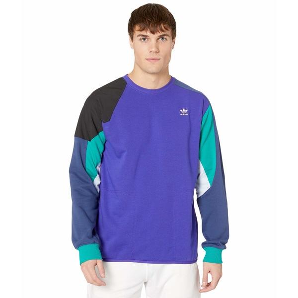 アディダスオリジナルス メンズ パーカー・スウェットシャツ アウター Foundation Sweatshirt Energy Ink