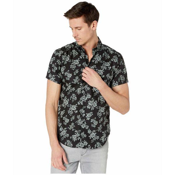 ナイキッドアンドフェイマス メンズ シャツ トップス Short Sleeve Easy Shirt Floral Sketch/Black