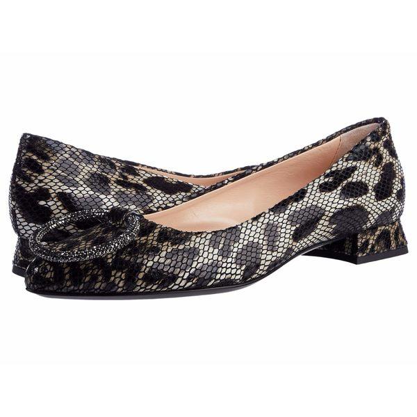 エージーエル レディース サンダル シューズ Ring Ornament Ballet Leopard Snake