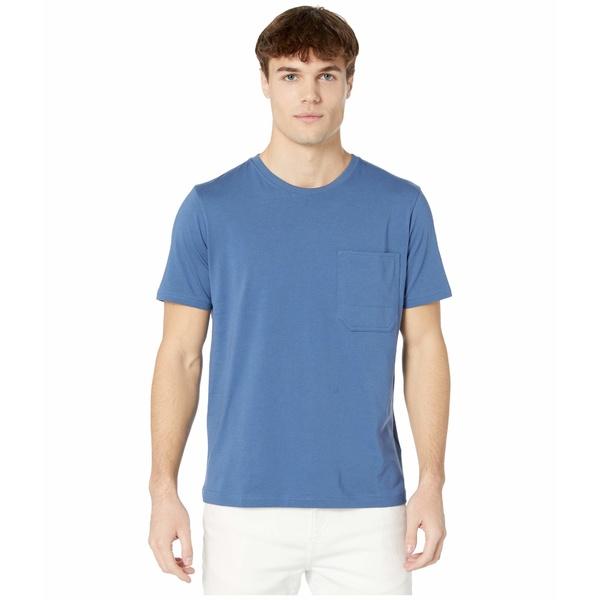 7フォーオールマンカインド メンズ シャツ トップス Pocket T-Shirt Mid Blue