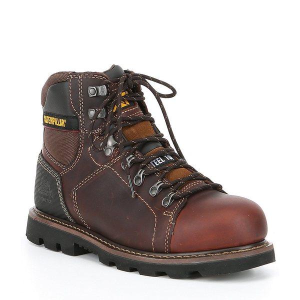 キャットフットウェア メンズ ブーツ&レインブーツ シューズ Men's Alaska 2.0 Steel Toe Work Boot Brown