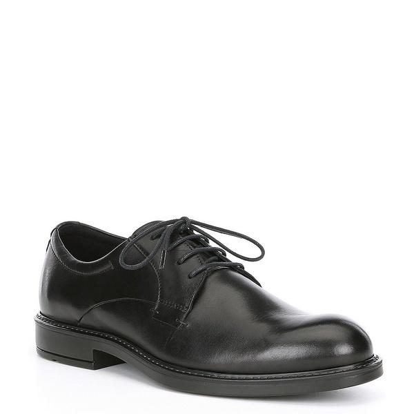 エコー メンズ ドレスシューズ シューズ Men's Vitrus III Plain Toe Derby Black