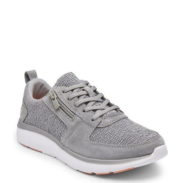 バイオニック レディース スニーカー シューズ Remi Side Zipper Sneakers Slate Grey