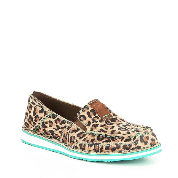 アリアト レディース スニーカー シューズ Cruiser Cheetah Slip-Ons Cheetah