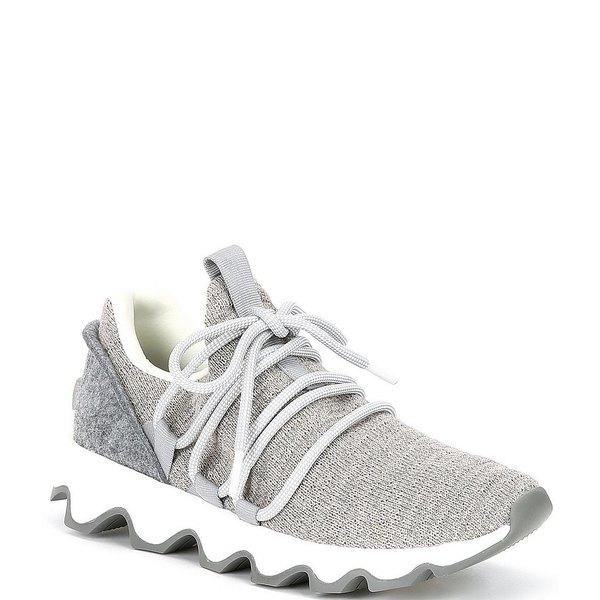 ソレル レディース スニーカー シューズ Kinetic Knit Lace-Up Sneakers Dove