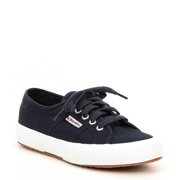 スペルガ レディース スニーカー シューズ Cotu Classic Sneakers Navy/White