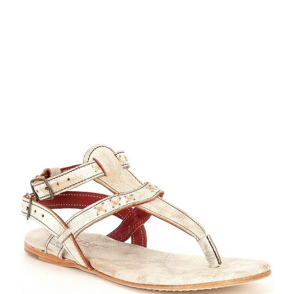 シューズ Leather Flat Thong サンダル Moon Lux レディース Sandals Nectar ベッドステュ