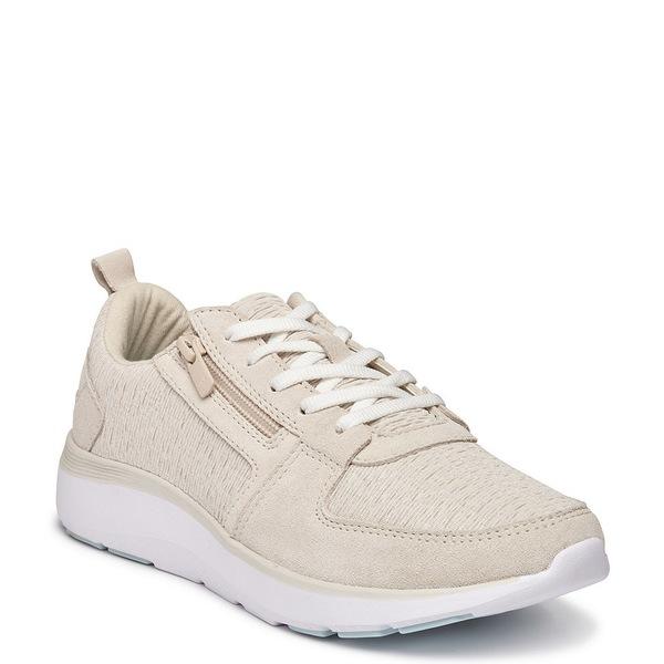 バイオニック レディース スニーカー シューズ Remi Side Zipper Sneakers Cream