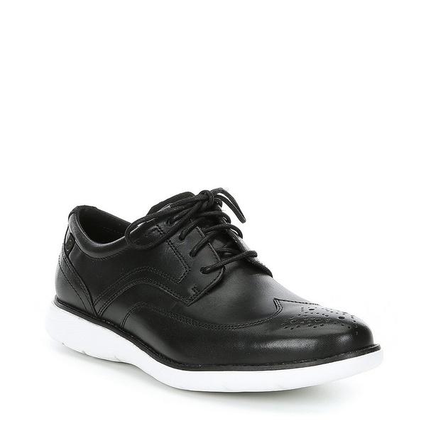 ロックポート メンズ ドレスシューズ シューズ Men's Kessler Leather Wingtip Black