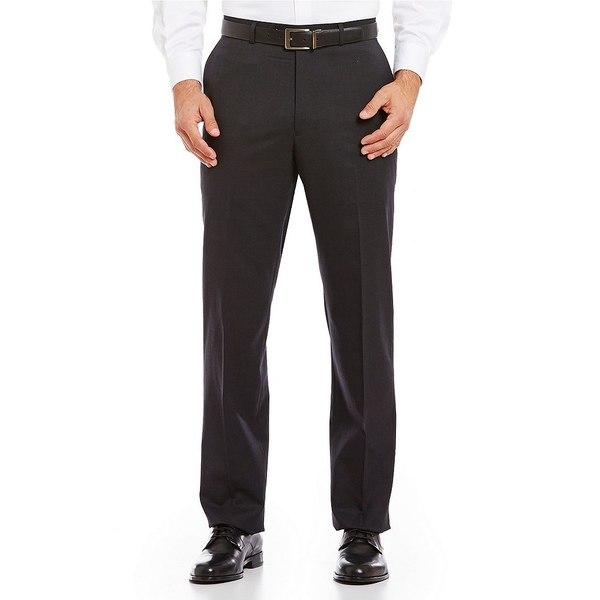 <title>ハートシャファネールマークス メンズ ボトムス カジュアルパンツ Charcoal 全商品無料サイズ交換 輸入 Tailored Flat-Front Chicago Dress Pants</title>