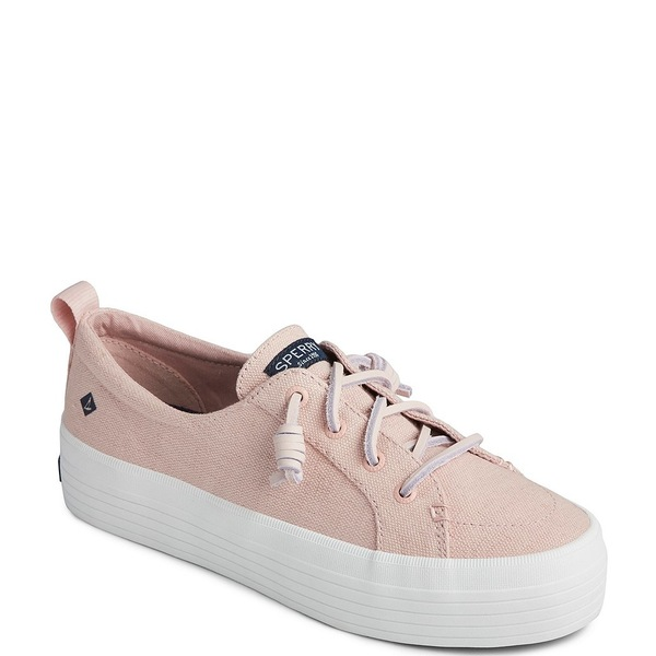 スペリー レディース スニーカー シューズ Women's Crest Vibe Triple Platform Sneakers Rose Dust