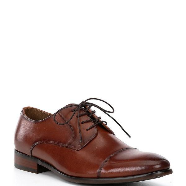 アルド メンズ ドレスシューズ シューズ Men's Knaggs Leather Cap Toe Oxfords Cognac