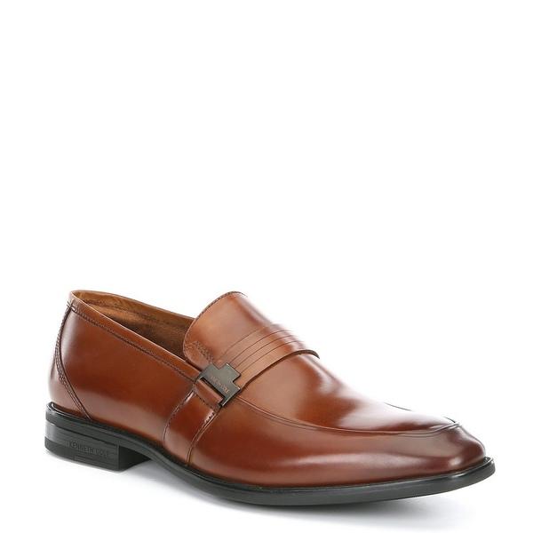 ケネスコール メンズ ドレスシューズ シューズ Men's Ticketpod Slip On Loafer Cognac