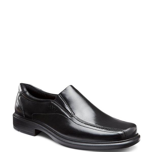 エコー メンズ ドレスシューズ シューズ Men's Helsinki Slip-On Loafers Black