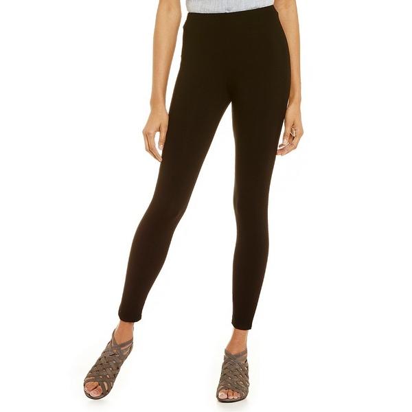 エイリーンフィッシャー レディース レギンス ボトムス Essentials Stretch Jersey Ankle Leggings Black