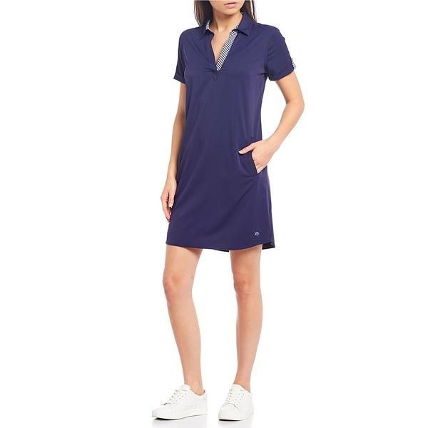 サウザーンタイド レディース ワンピース トップス Kamryn Brrr Knit Popover Shirtdress Nautical Navy