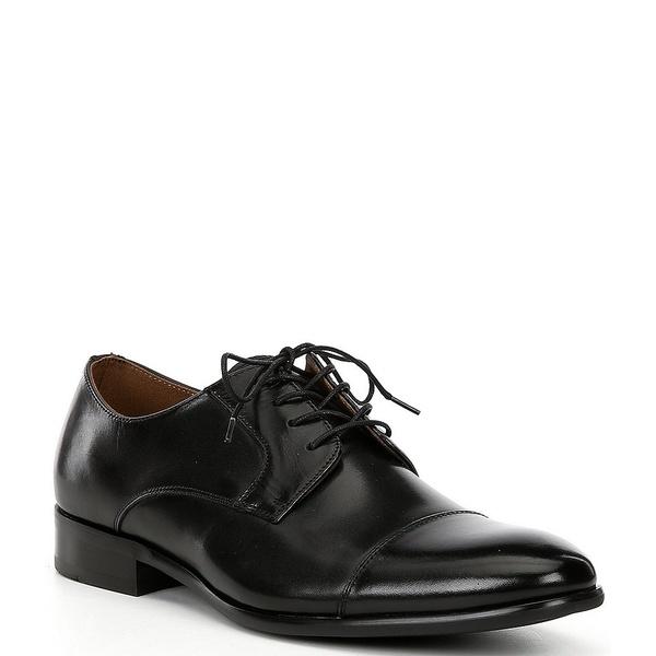 アルド メンズ ドレスシューズ シューズ Men's Knaggs Leather Cap Toe Oxfords Black