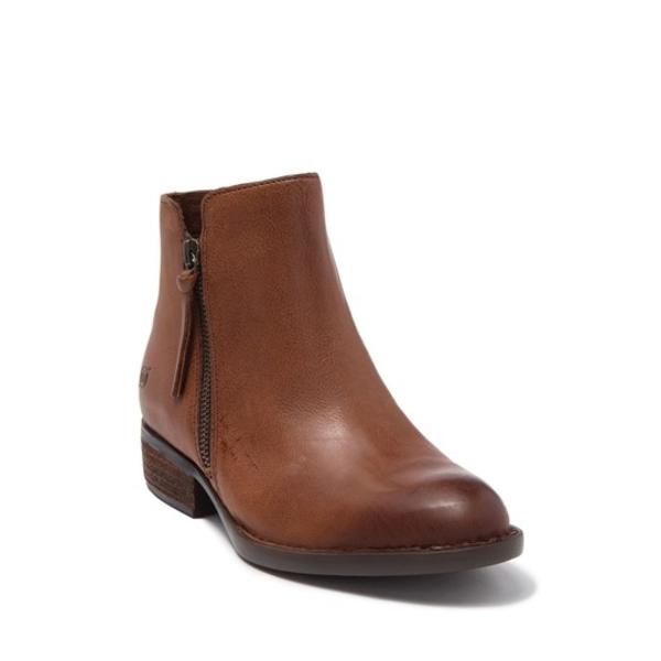 ボーン レディース ブーツ&レインブーツ シューズ Olio Leather Bootie BROWN