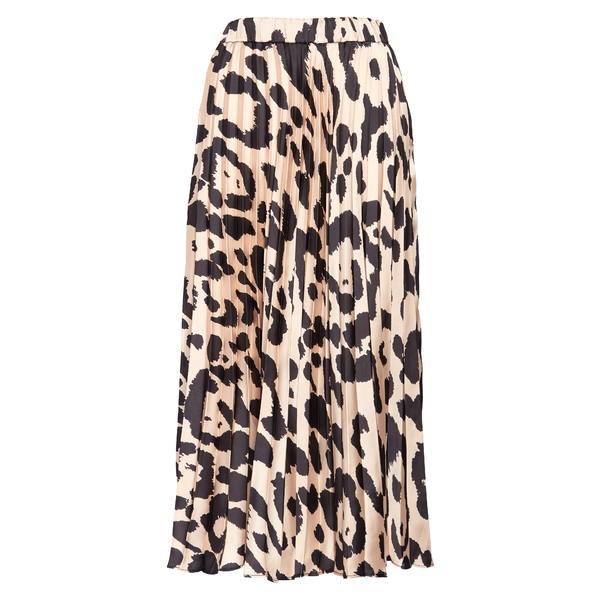 サンクチュアリー レディース スカート ボトムス Everyday Print Pleated Skirt Oversize Spot
