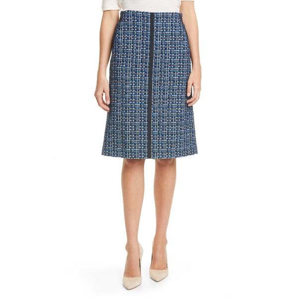 ボス レディース スカート ボトムス Varius Tweed Suit Skirt Midnight Fantasy