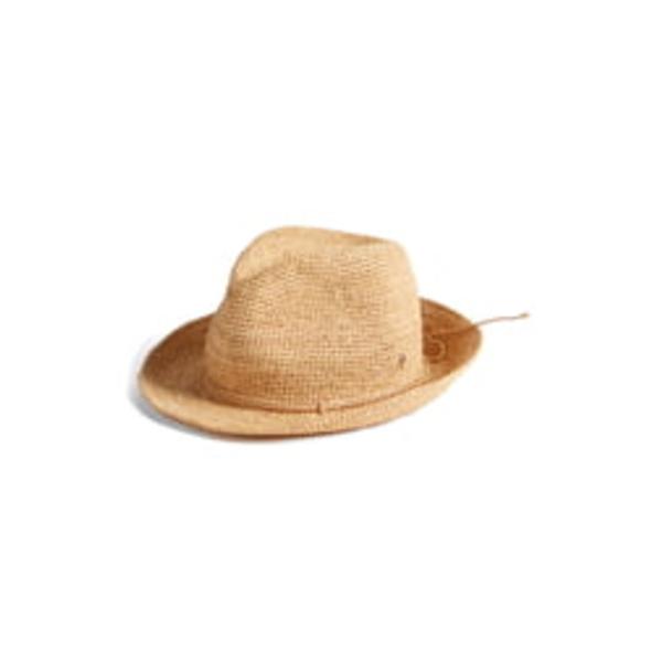 ヘレンカミンスキー レディース ヘアアクセサリー アクセサリー Raffia Crochet Packable Sun Hat Nougat