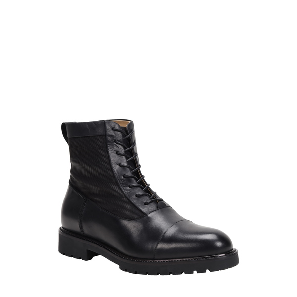 ロスアンドスノー メンズ ブーツ&レインブーツ シューズ Cap Toe Weatherproof Boot Black