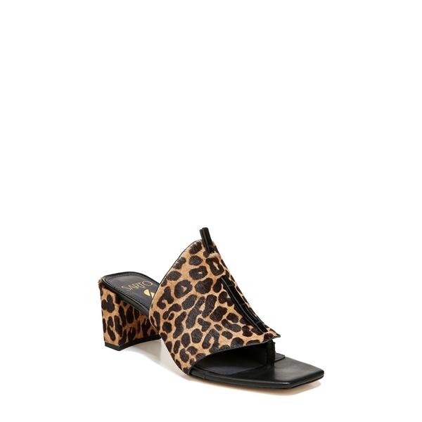 サルトバイフランコサルト レディース サンダル シューズ Nina Slide Sandal Animal Print Calf Hair