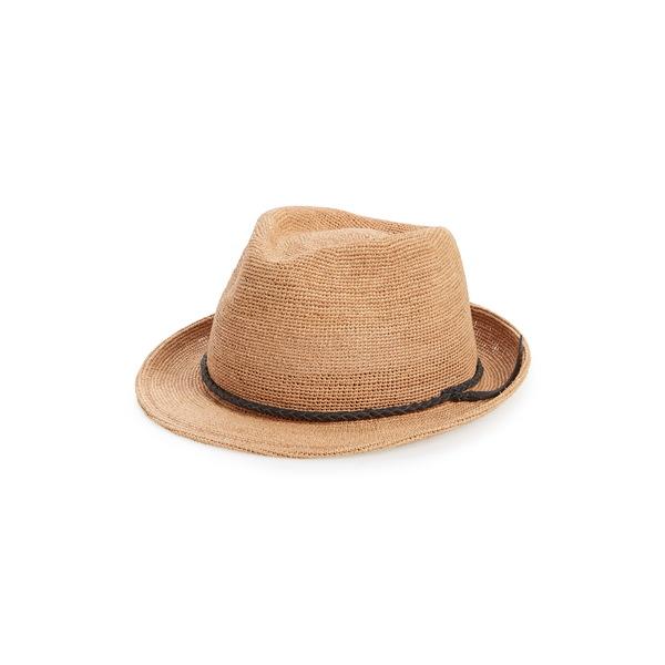 グーリンブラザーズ メンズ 帽子 アクセサリー Morning Glory Trilby Tan