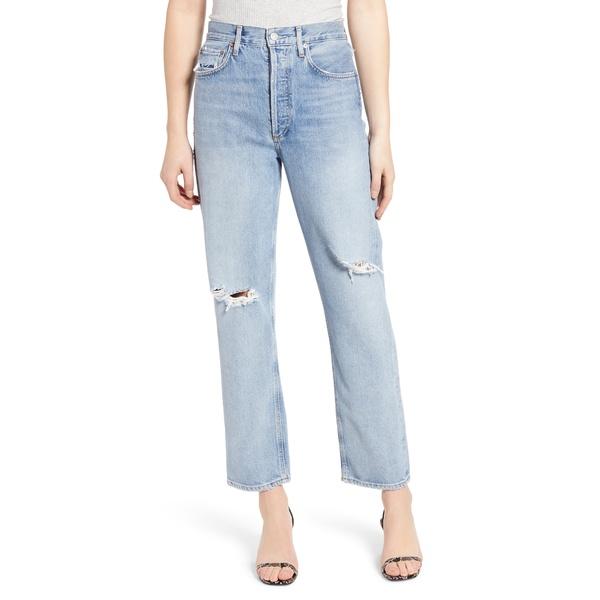 アゴルド レディース デニムパンツ ボトムス '90s High Waist Loose Fit Jeans Captured