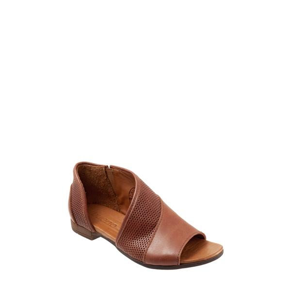 ブエノ レディース サンダル シューズ Tahiti Half d'Orsay Sandal Tan Leather