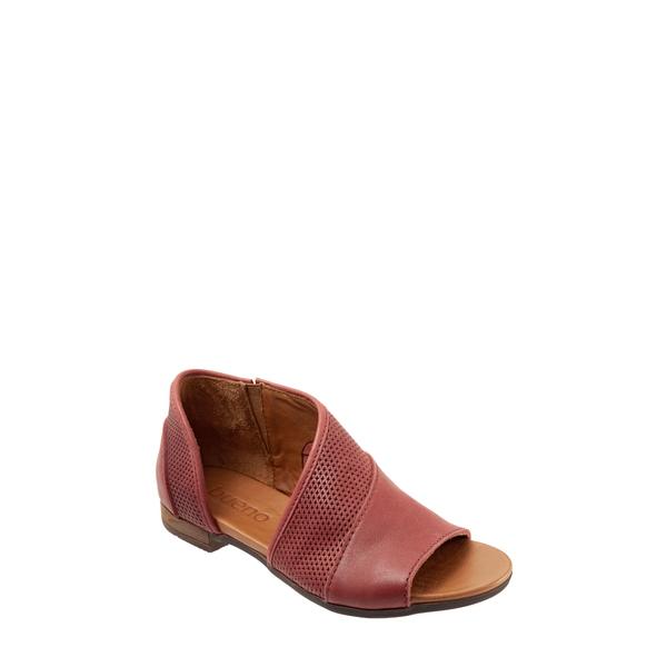 ブエノ レディース サンダル シューズ Tahiti Half d'Orsay Sandal Red Leather