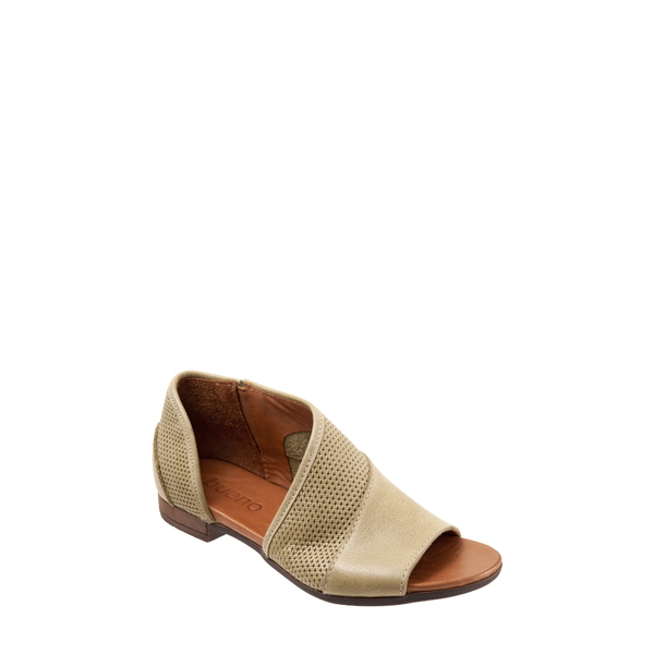 ブエノ レディース サンダル シューズ Tahiti Half d'Orsay Sandal Moss Leather