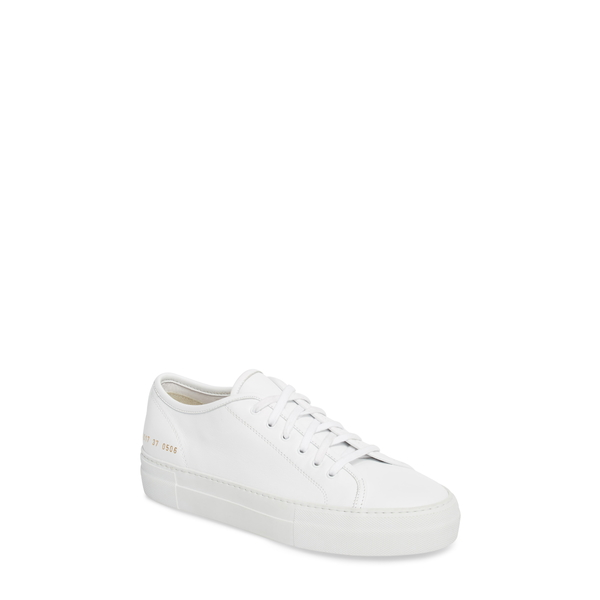 コモン・プロジェクツ レディース スニーカー シューズ Tournament Low Top Sneaker White