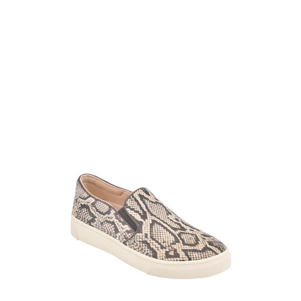 イヴァルヴ レディース スニーカー シューズ Lack Slip-On Sneaker Snake Print Leather