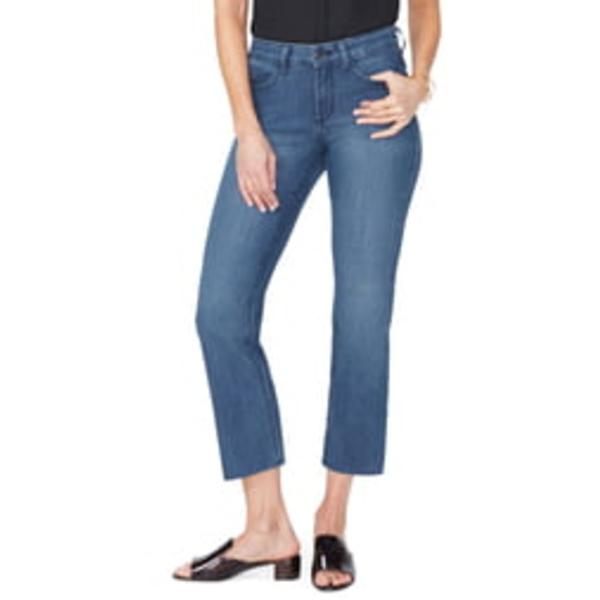 エヌワイディージェイ レディース デニムパンツ ボトムス Marilyn Raw Hem Ankle Straight Leg Jeans Yucca Valley