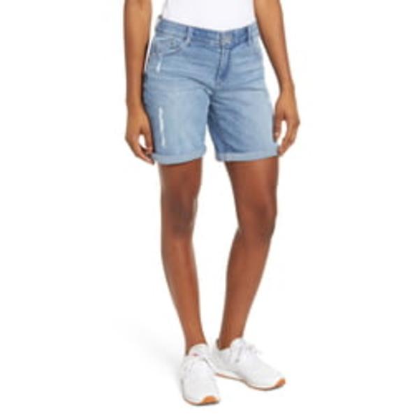 ウィットアンドウィズダム レディース カジュアルパンツ ボトムス Ab-Solution Denim Bermuda Shorts Light Blue