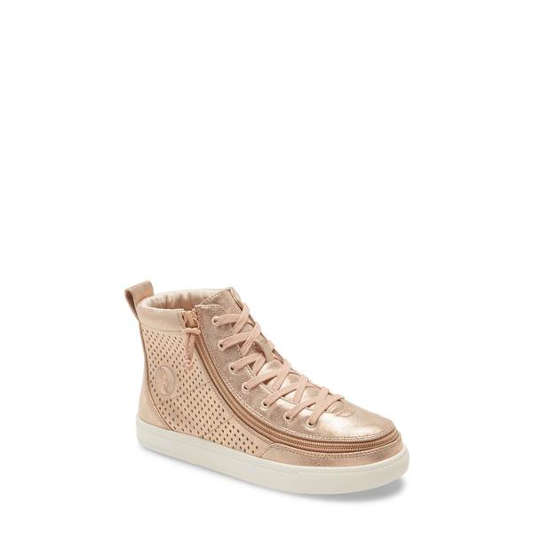 ビリーフットウェア レディース スニーカー シューズ Classic High Top Sneaker Rose Gold/ Shine