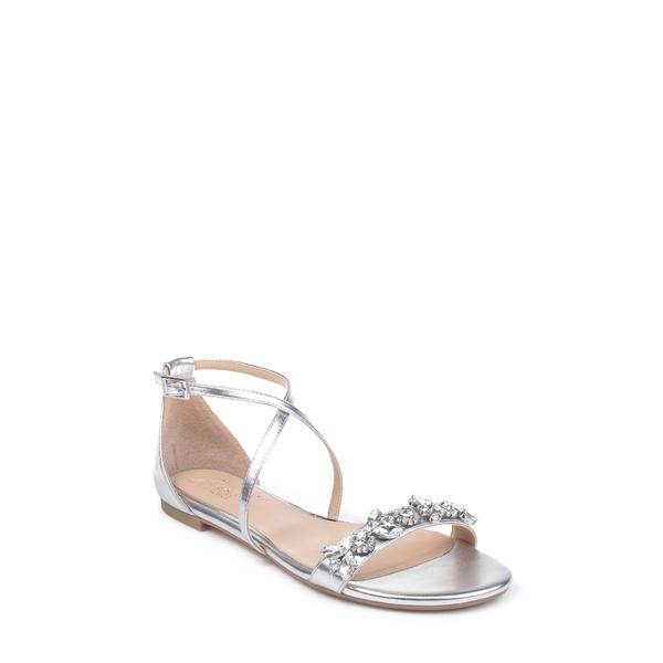 ジュウェルダグレイミシュカ レディース サンダル シューズ Tessy Embellished Sandal Silver