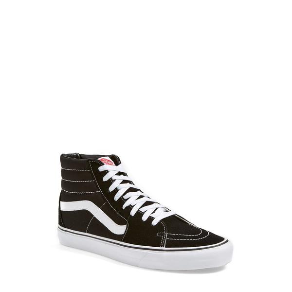 バンズ メンズ スニーカー シューズ Sk8-Hi Sneaker Black/ Black