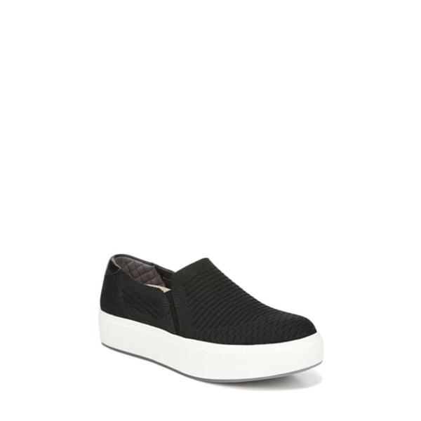 ドクター・ショール レディース スニーカー シューズ Abbot Slip-On Sneaker Black Knit Fabric