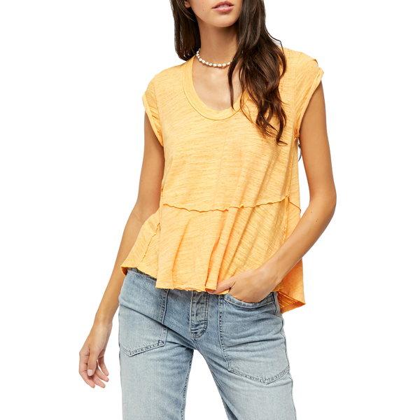フリーピープル レディース Tシャツ トップス Sweetness T-Shirt Cantaloupe