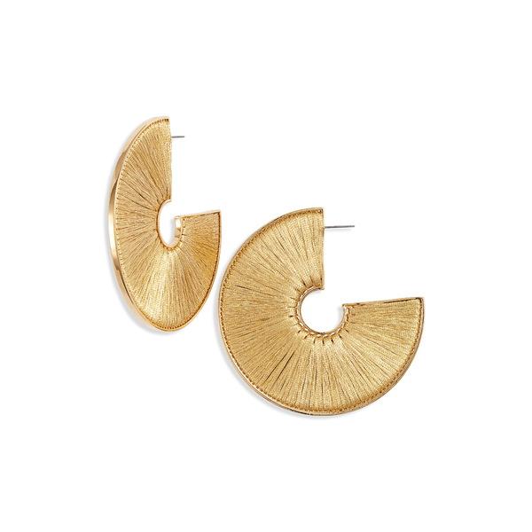 ミグノンガーヴィガン レディース ピアス&イヤリング アクセサリー Fiona Mega Hoop Earrings Gold/ Gold